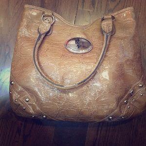 Tan Polo Bag
